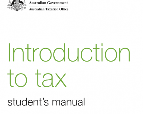 ATO Introduction to Tax for Students.